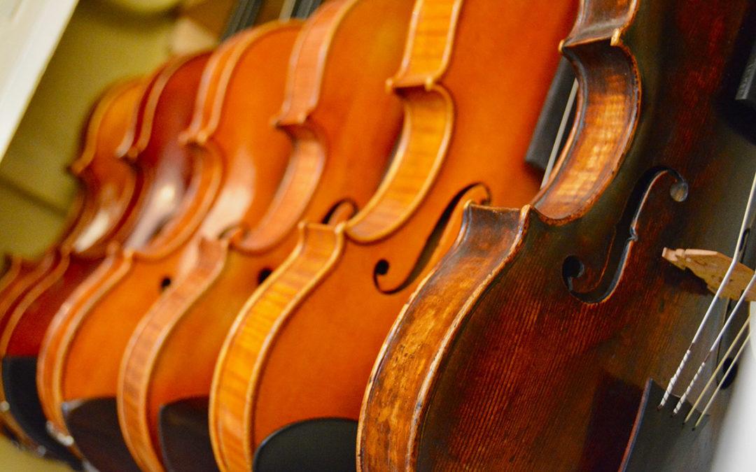 Nationaal Muziekinstrumenten Fonds blij met Guarneri Kopie van Bas Maas
