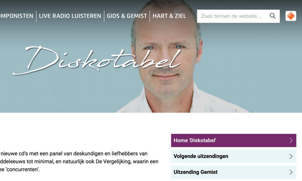 Bas Maas op Radio 4