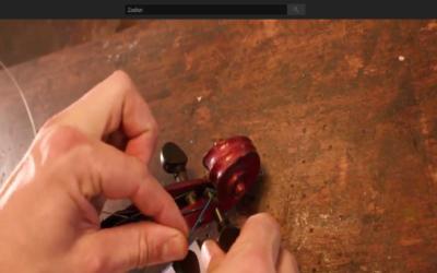 Hoe vervang je een vioolsnaar?